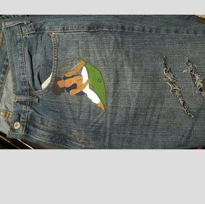 Custom Paint On Pants !
